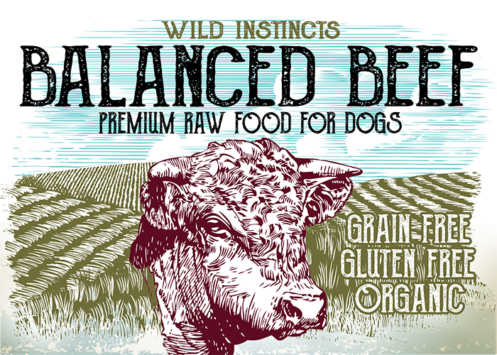 Wild Instincts Premium Raw Beef Formula