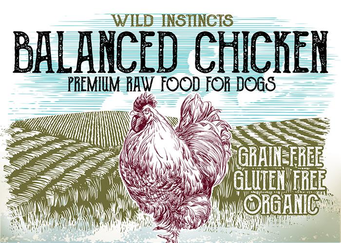 Wild Instincts Premium Raw Chicken Formula